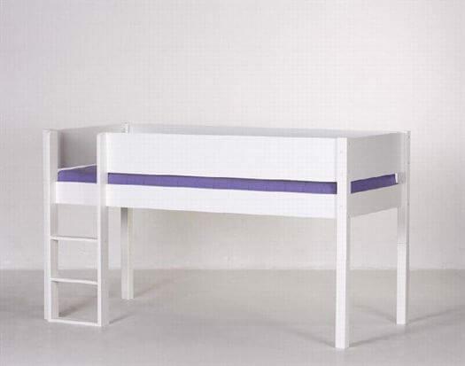 Image of   Halvhøj seng i super kvalitet, 160 cm - Manis-h