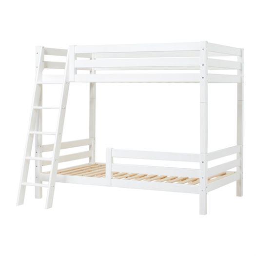 Høj etageseng delbar, skrå stige og 1/2 sengehest 120x200 cm Premium - Hoppekids thumbnail
