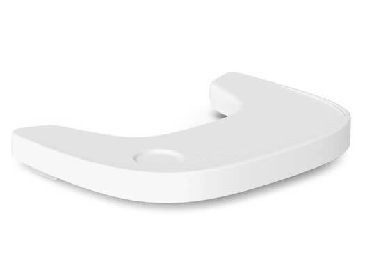 Image of   Bord i plast til EVOLU 2 højstol, Hvid