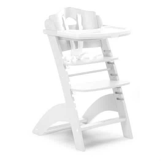 Højstol med bord, LAMBDA 3 hvid - Childhome thumbnail