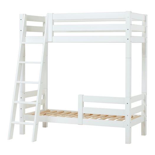 Høj etageseng delbar, skrå stige og 1/2 sengehest 70x160 cm Premium - Hoppekids thumbnail