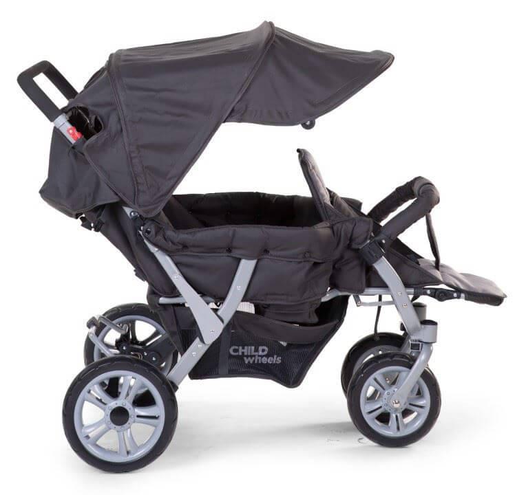 klapvogn til 3 b rn inklusiv regnslag childhome man vredygtig og med god komfort. Black Bedroom Furniture Sets. Home Design Ideas