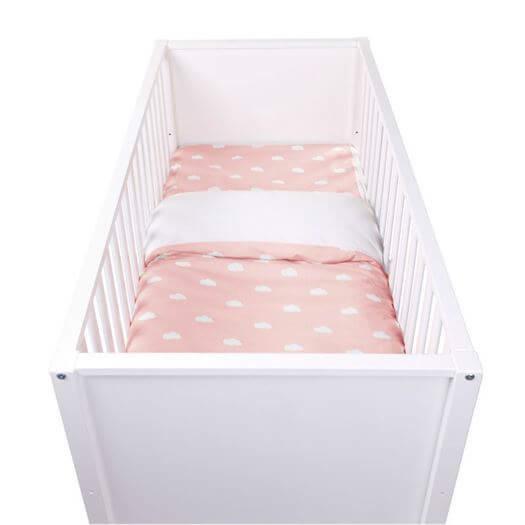 Junior sengetøj, Snoozy Clouds Rosa - Childhome thumbnail
