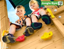 Jungle Gym klatrevæg kit-sæt