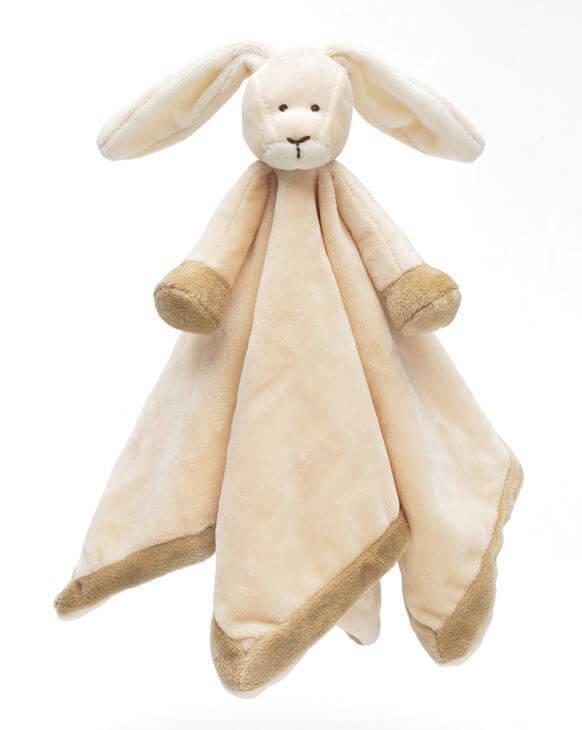 Nusseklud Diinglisar Kanin m. navn - Teddykompaniet Lækker blød nusseklud fra Teddykompaniet