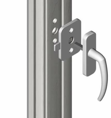 Splinterny Sikkerhedslås til vindue eller altandør - Reer. Skab sikkerhed i HW07