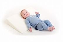 Baby Sleep, Delta Baby - Side pude til baby forebygger og fjerner skævt og fladt baghoved