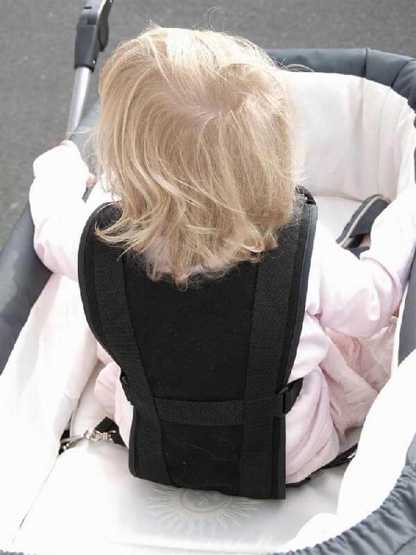 Trille Selen - god og stærk sikkerhedstestet barnevognssele op til ca. 36 mdr.