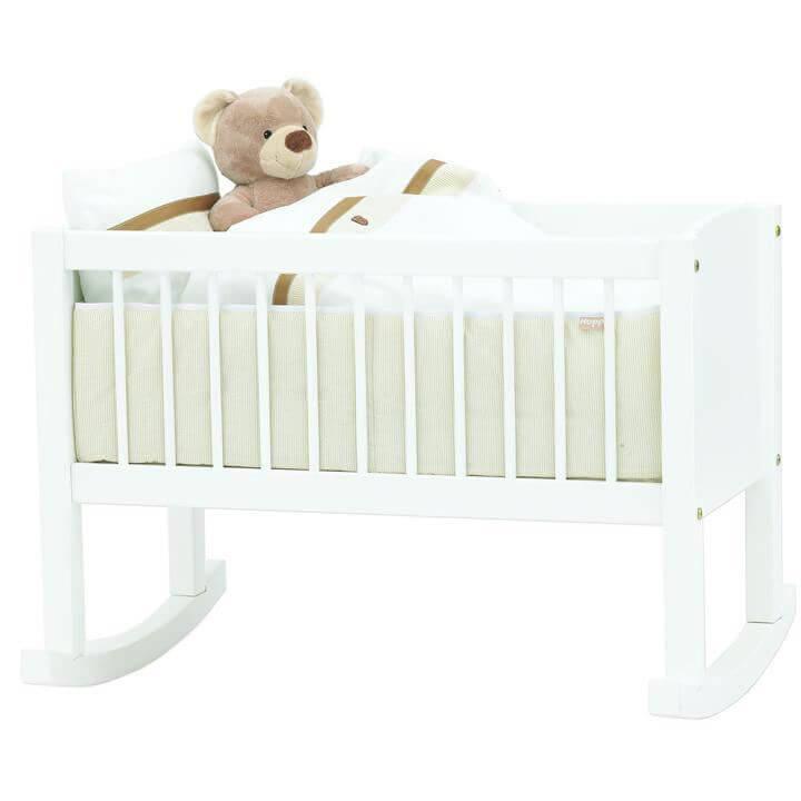 vugge Vugge og bænk, Hoppekids   kan også omdannes til Bedside Crib til  vugge